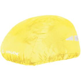 VAUDE Protector de casco para la lluvia, neon yellow